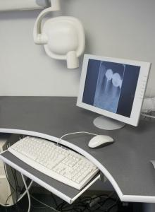 Dental x-rays on a computer screen | Dentist Paddington NSW