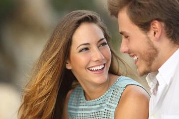 Woman and man smiling | Dentist Paddington NSW