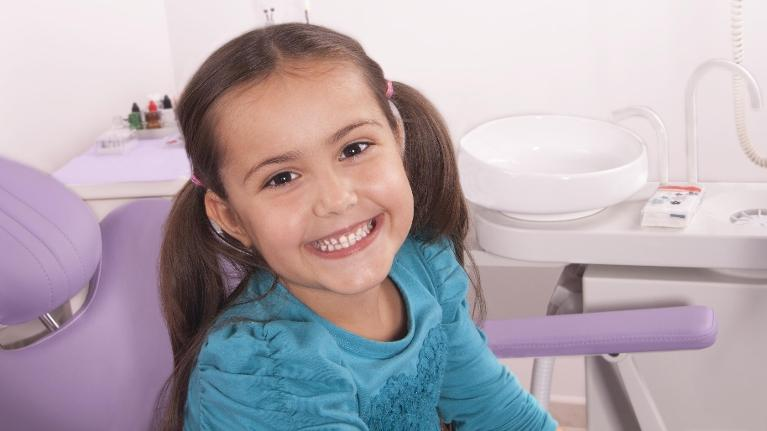 Girl at Dentist | Paddington NSW Children's Dentist