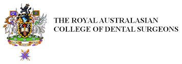 The Royal Australasian College of Dental Surgeons Logo